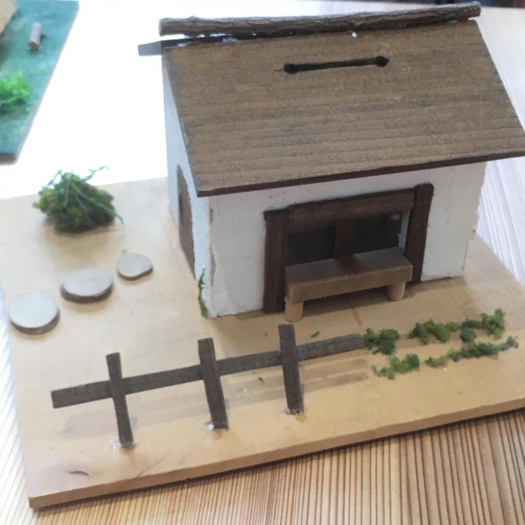 平城宮跡歴史公園 朱雀門ひろば 吉野杉で作る貯金箱