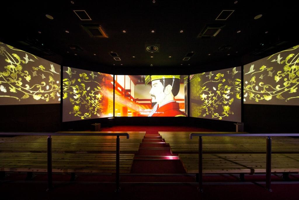 県営平城宮跡歴史公園 朱雀門ひろば 天平みはらし館「VRシアター」