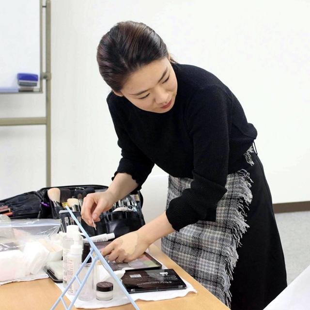 県営平城京歴史公園 イベント メイク講師 伊藤理恵