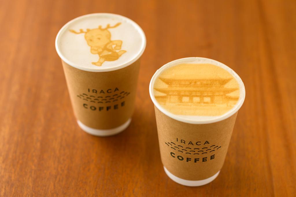 県営平城宮跡歴史公園 朱雀門ひろば イラカコーヒー