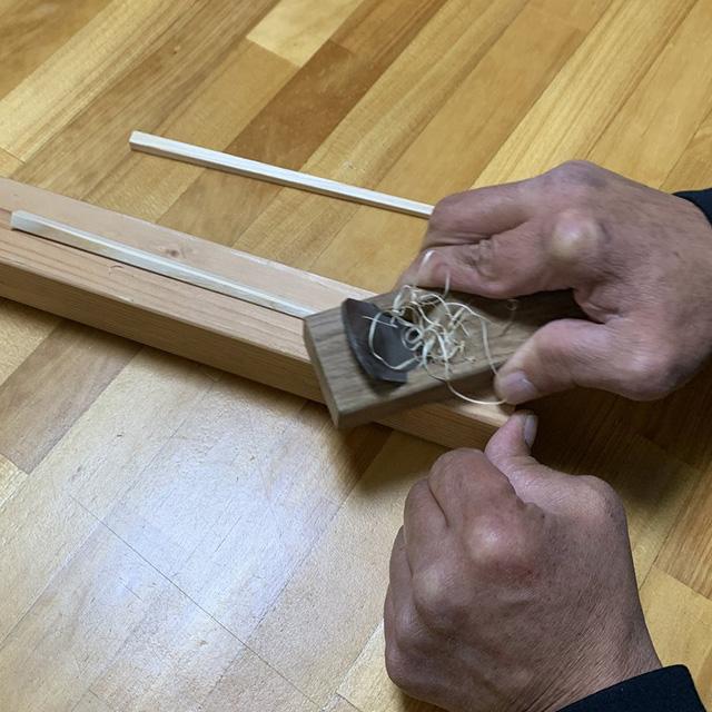 平城宮跡歴史公園 朱雀門ひろば 吉野杉おはし作り