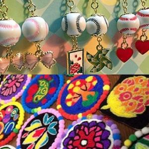 平城宮跡歴史公園 朱雀門ひろば メキシコの毛糸アートのワークショップ